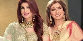 Twinkle Khanna with Dimple Kapadia