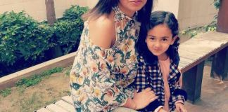 Rachna Somani with her daughter