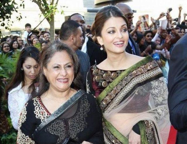 Aishwarya and Jaya
