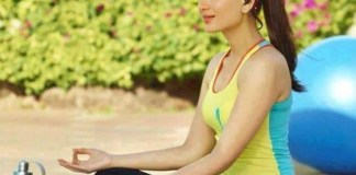 Kareena is an ardent yoga lover
