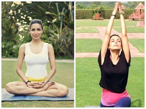Malika Arora Khan loves her yoga