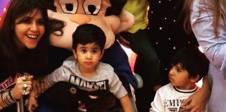 Tusshar Kapoor's Christmas Party