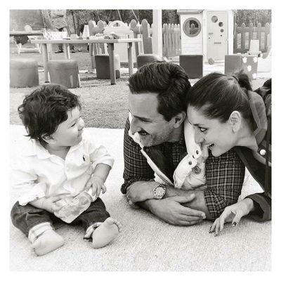 Taimur with Kareena and Saif