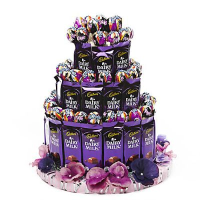 3-Tier Chocopop Cake
