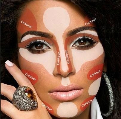 How to contour like Kim