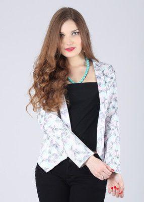 Elle Full Sleeve Printed Women's Jacket