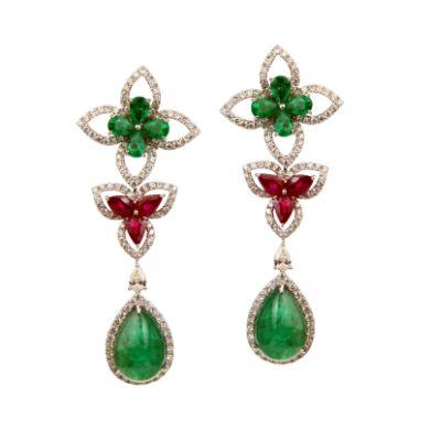 Mexican shell earrings