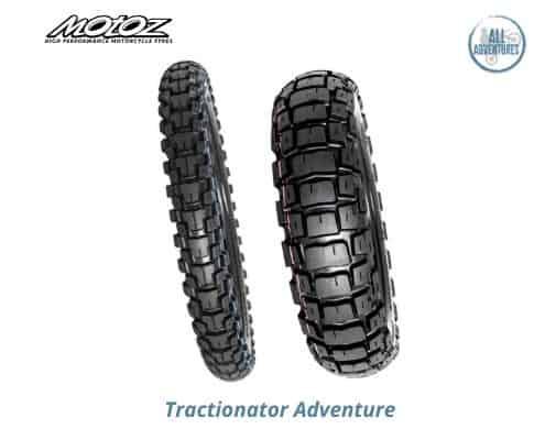 Motoz tractionator adventure anteriore e posteriore