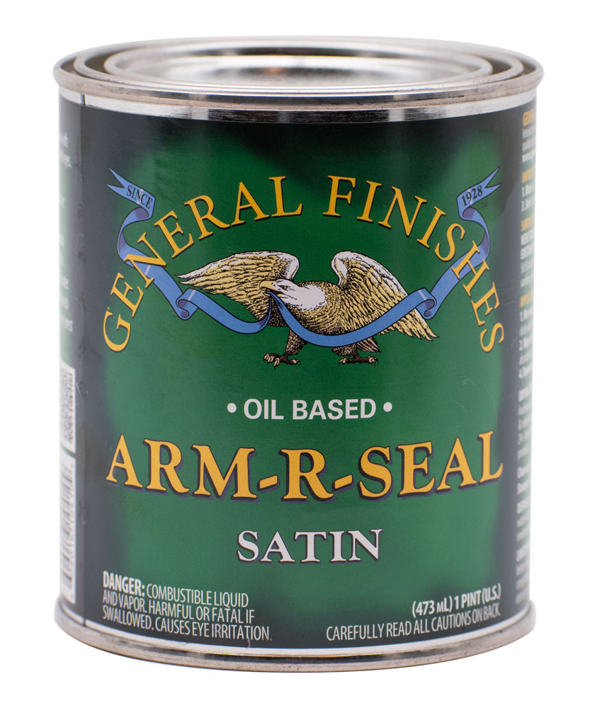 gf product OIL BASED TOPCOAT ARM R SEAL satin PINT CLOSED 1000PX general finishes 2019