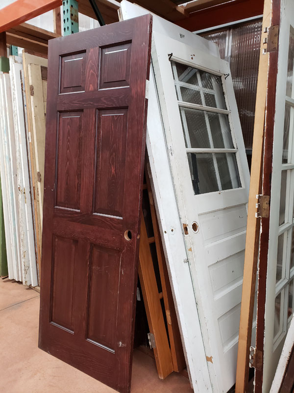 Salvaged Interior Doors 1