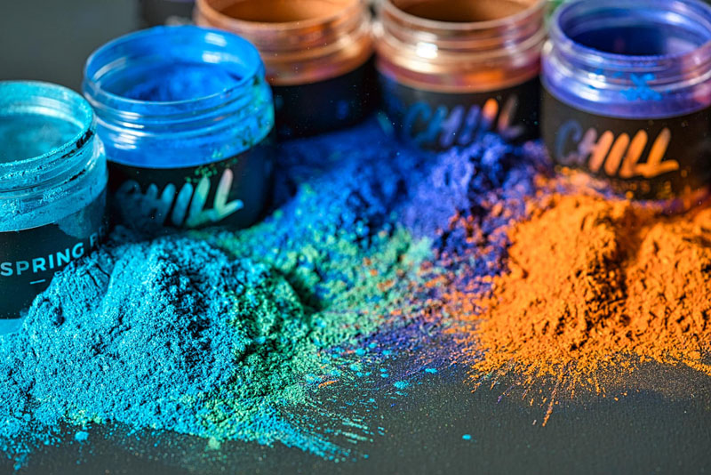 2.3 Chill Pigments. Polymeres