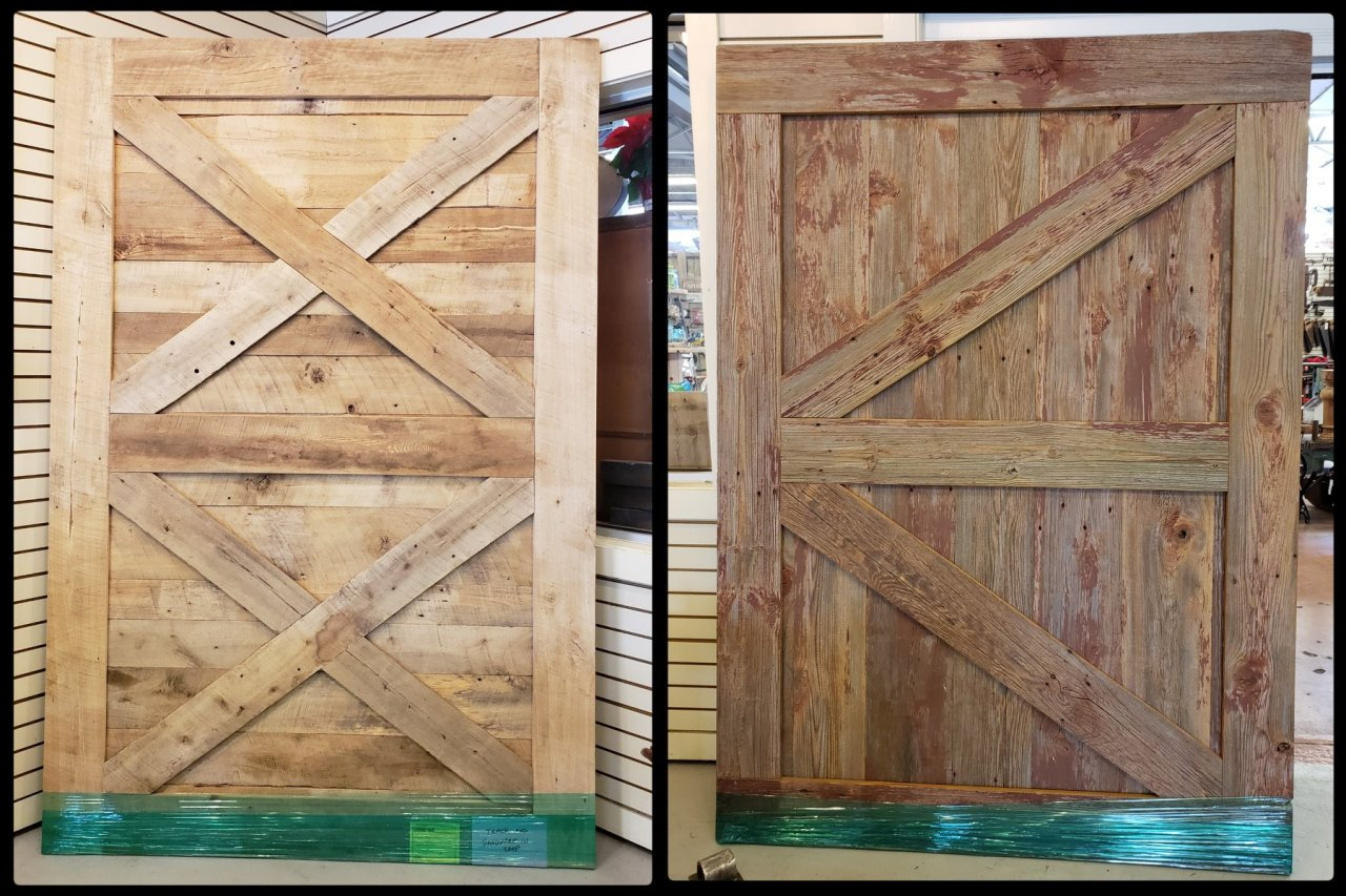 Custom Barn Doors. 2.1