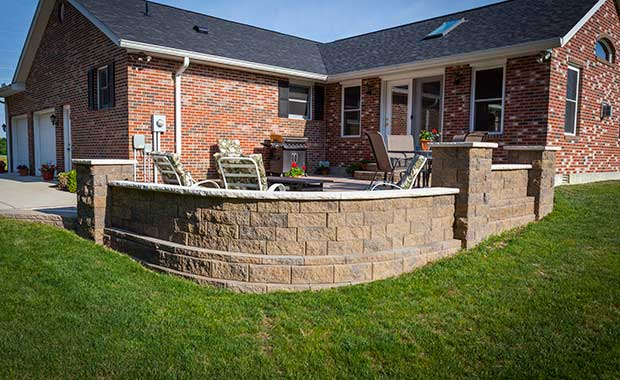 home retaining walls and other outdoor
