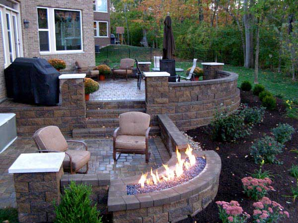 how to build a raised patio with