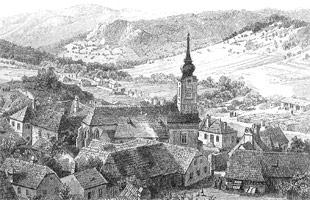 Alland um 1880