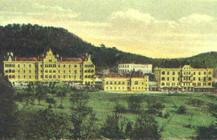 Heilstätte um 1898