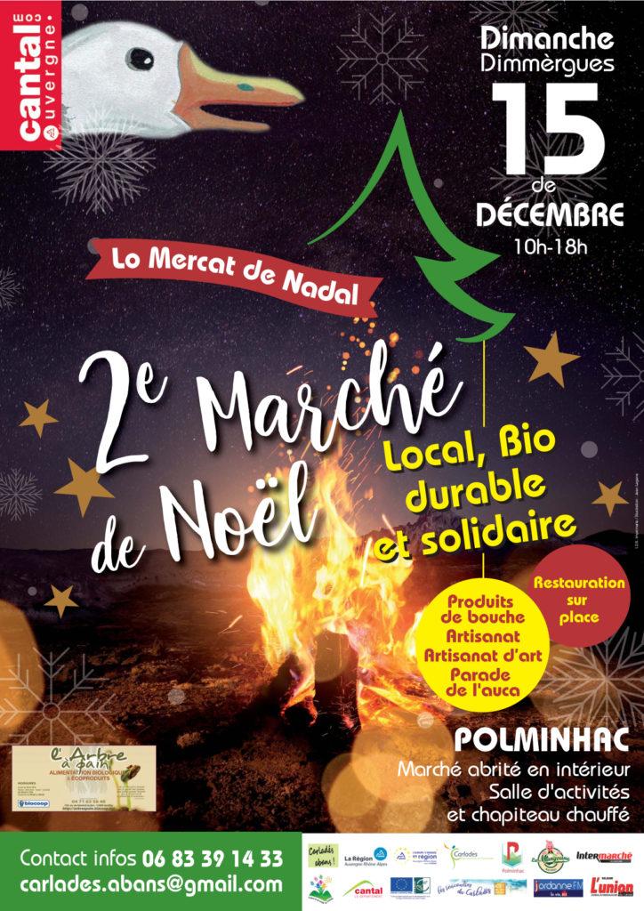 affiche mercat de nadal