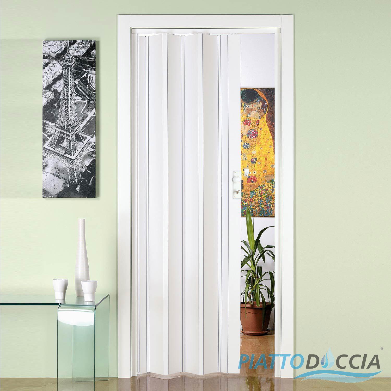 Porte Accordeon Pliante Coulissante Reglable Interieur 88 5x214 Cm Coulissante Ebay