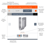 UI/UX Product Selector Panel