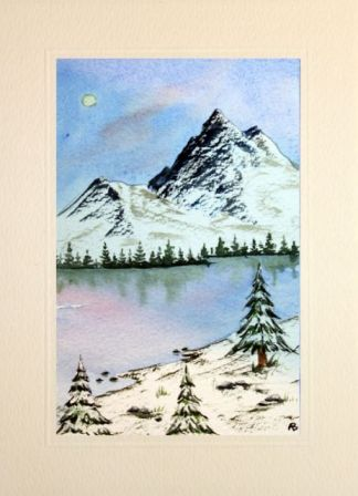 Arts And Crafts Watercolour Christmas Cards Make Your