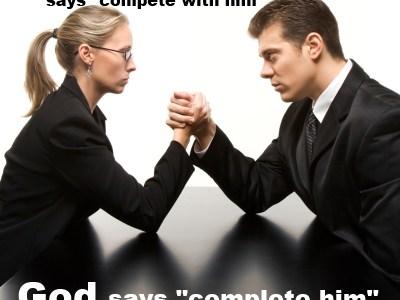 Femenism vs. God