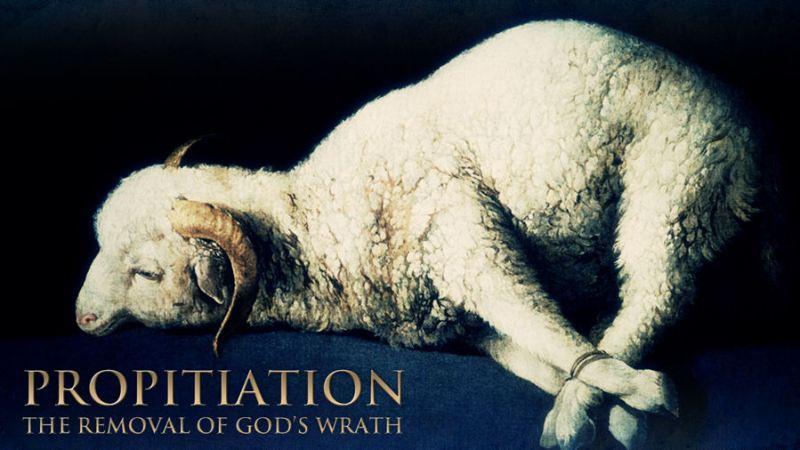 The propitiatory lamb.