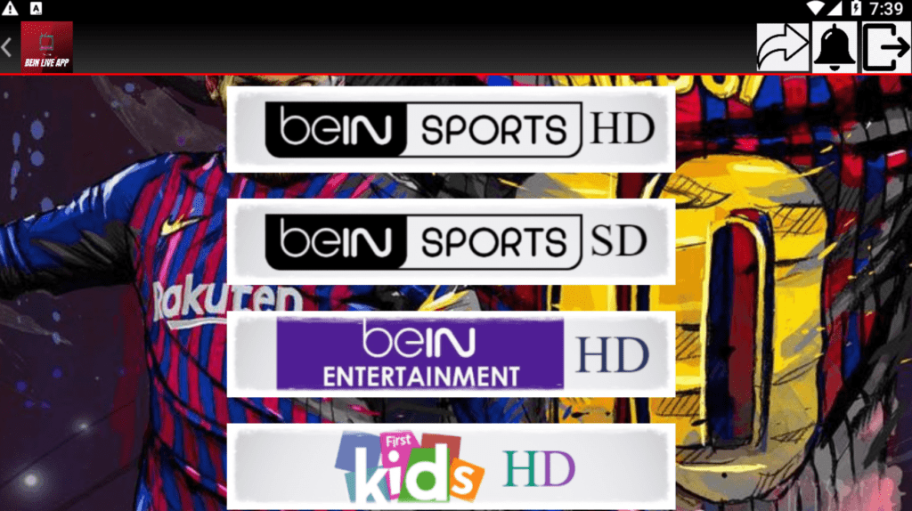 Bein Live  APK New IPTV For Android 3