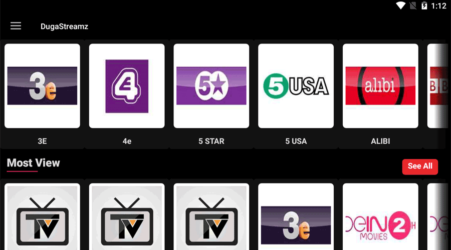 DugaStreamz IPTV APK Latest Version Exclusive 1