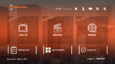 Streams Pro Premium IPTV APK With Activation Login code 9