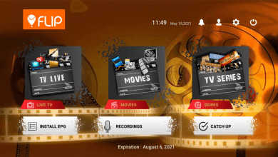 Flip IPTV Plus Premium Activation 7