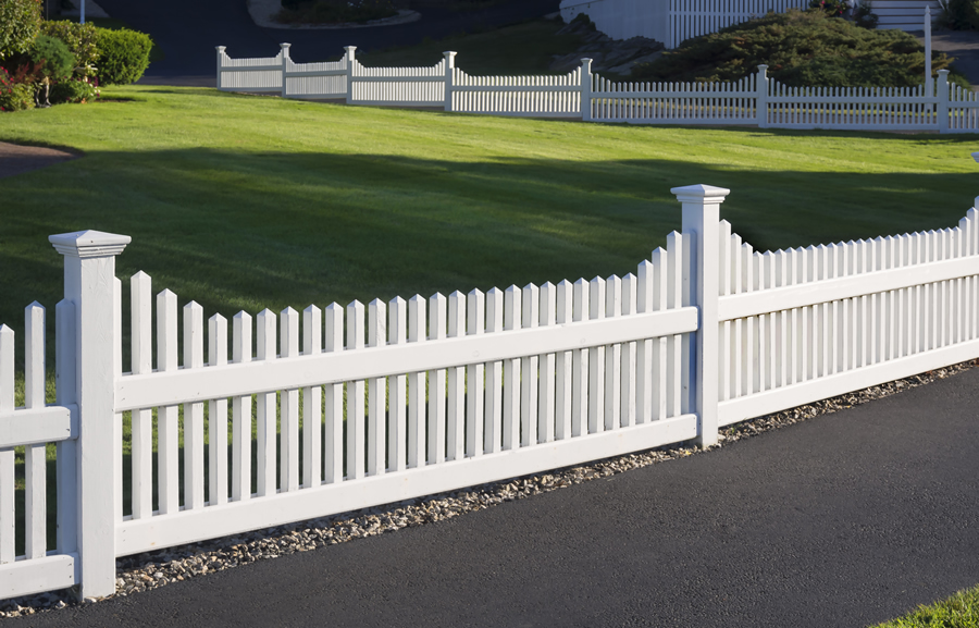 decorative vinyl fence