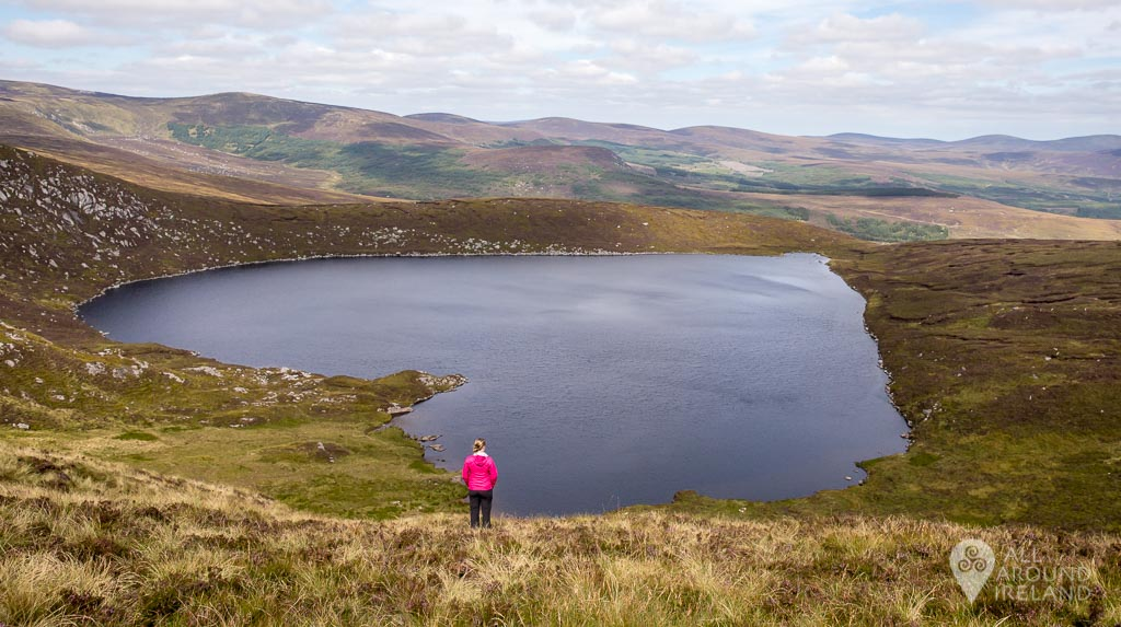 Lough Ouler - Ireland's Heart-Shaped Lake
