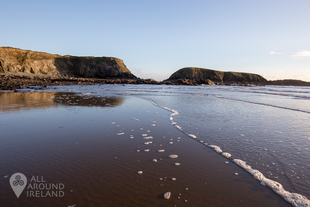 Reflections on Annestown Beach, Copper Coast, Waterford