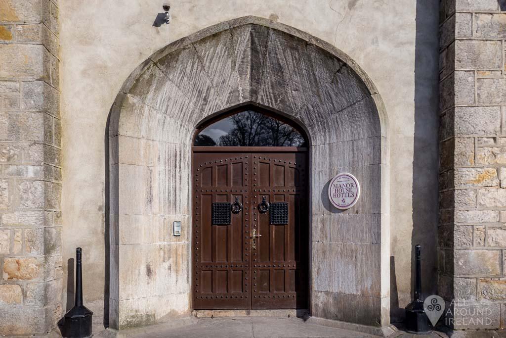 Main doorway to the castle