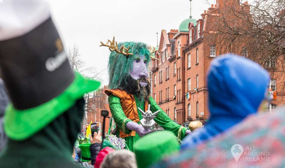St Patrick's Day Parade in 2017