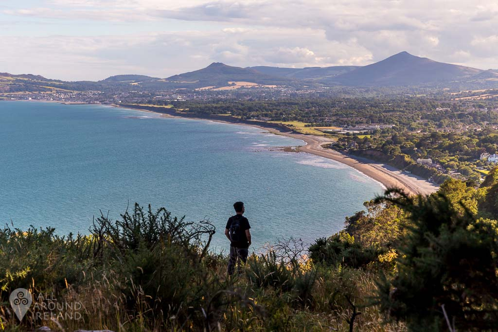 Stunning views from Killiney Hill in Dublin