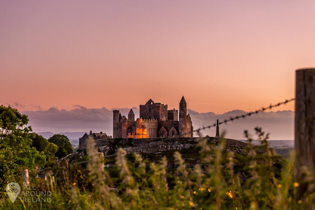 High on a hill sits the Rock of Cashel in Tipperary.