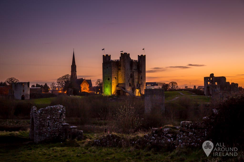 Trim Castle in Meath, which you might recognise from the movie Braveheart.