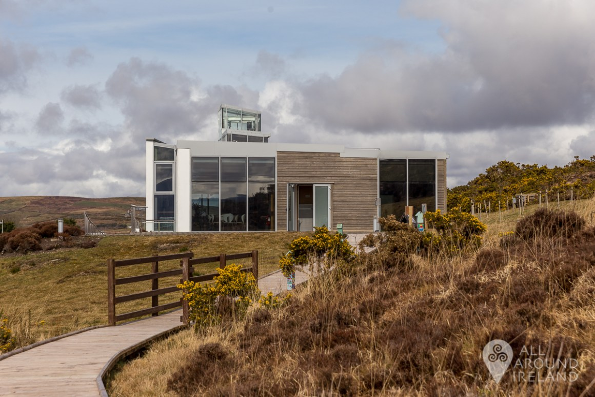 Ballycroy National Park visitor centre and nature trail.