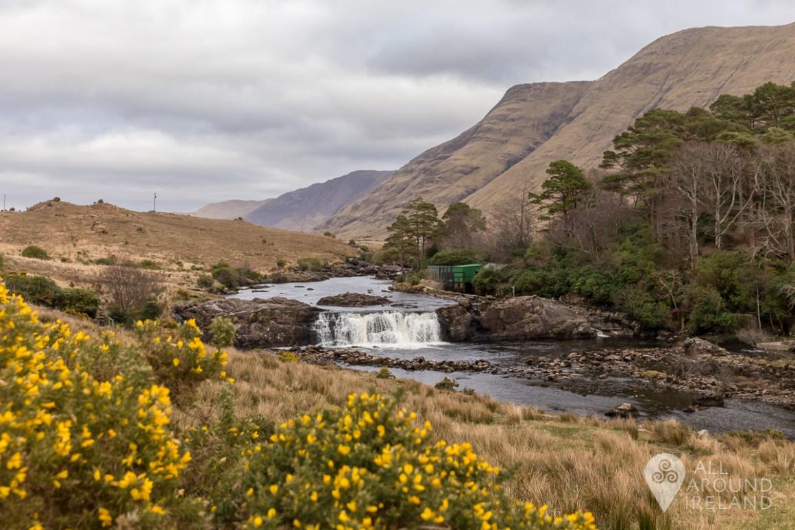 Aasleagh Falls near Leenane