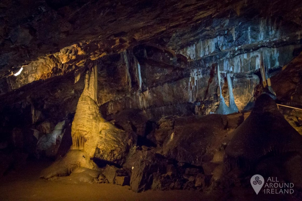 The Tower of Babel inside Mitchelstown Cave