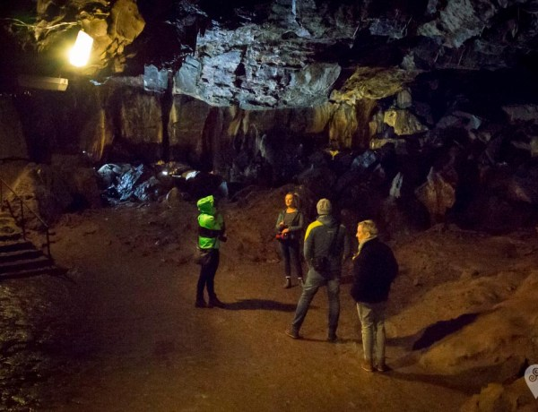 One of the three caverns on the tour at Mitchelstown Cave.