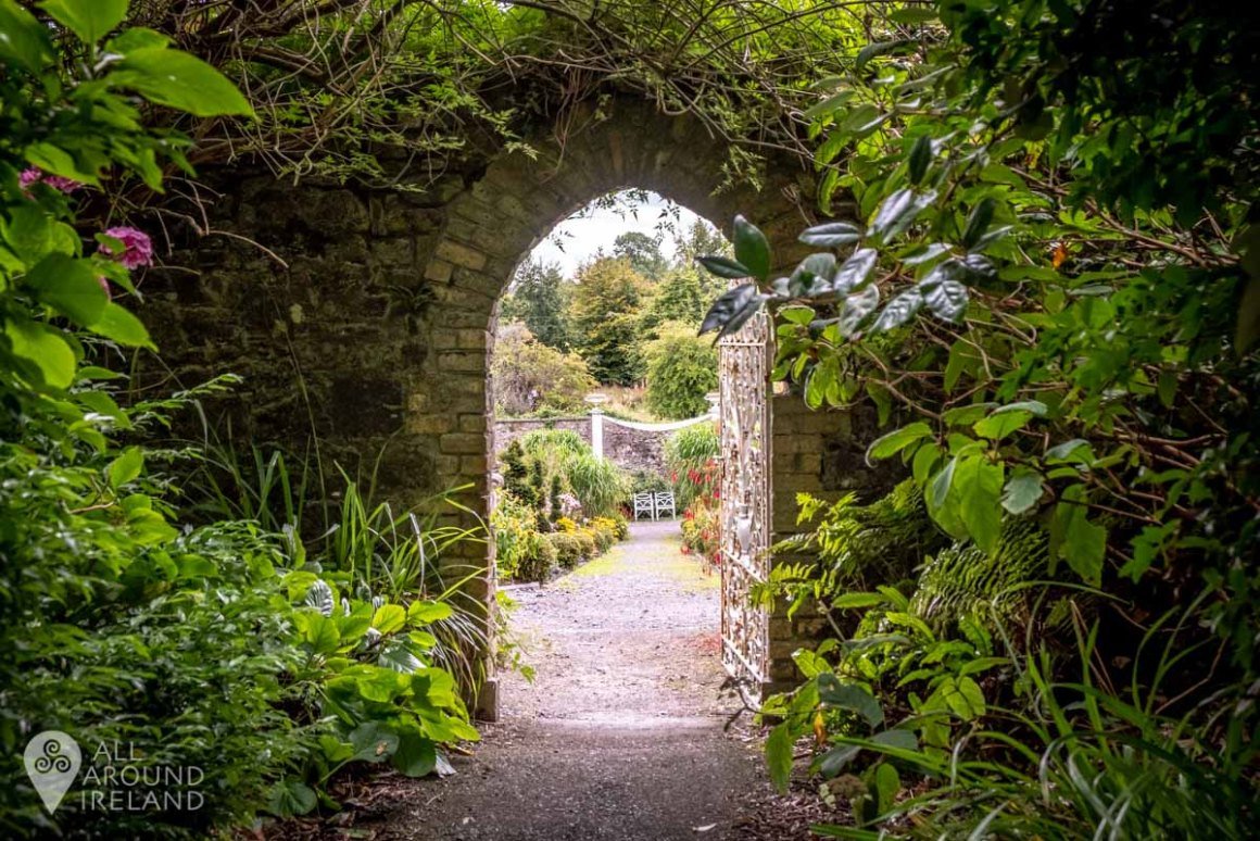 Entrance to the Walled Garden at Belvdere House and Estate