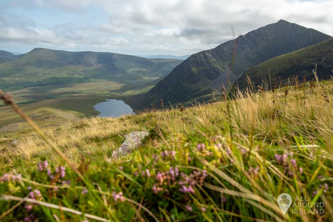Stunning views of the lakes as you continue to climb.