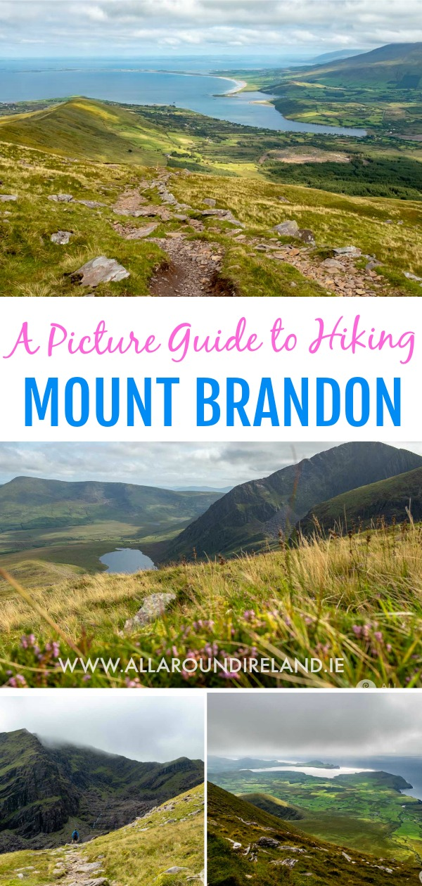 A photo guide to hiking Mount Brandon in Dingle, Ireland