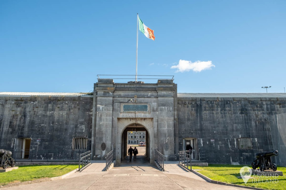 Entrance to Fort Mitchel on Spike Island