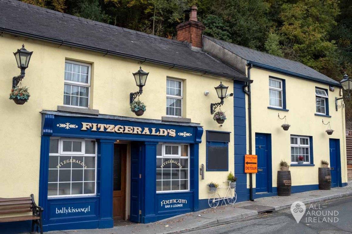 Fitzgerald's Pub in Avoca Village