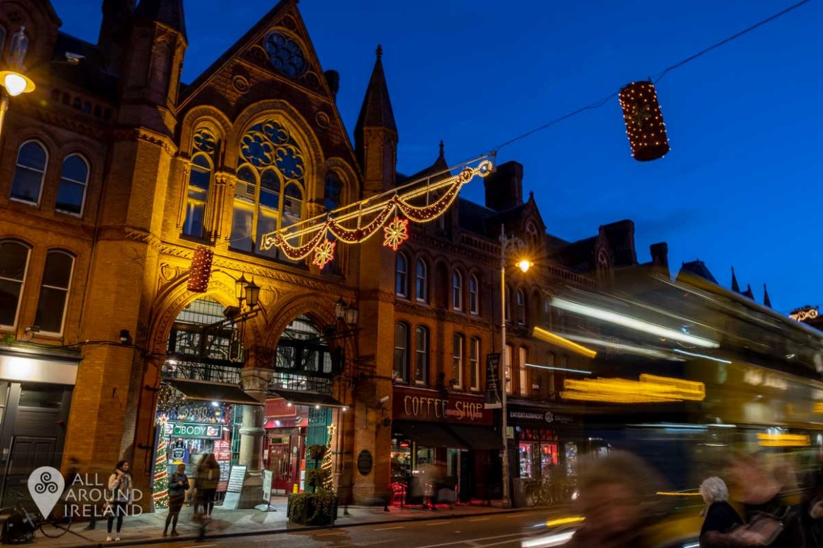 George's Street Arcade at Christmas