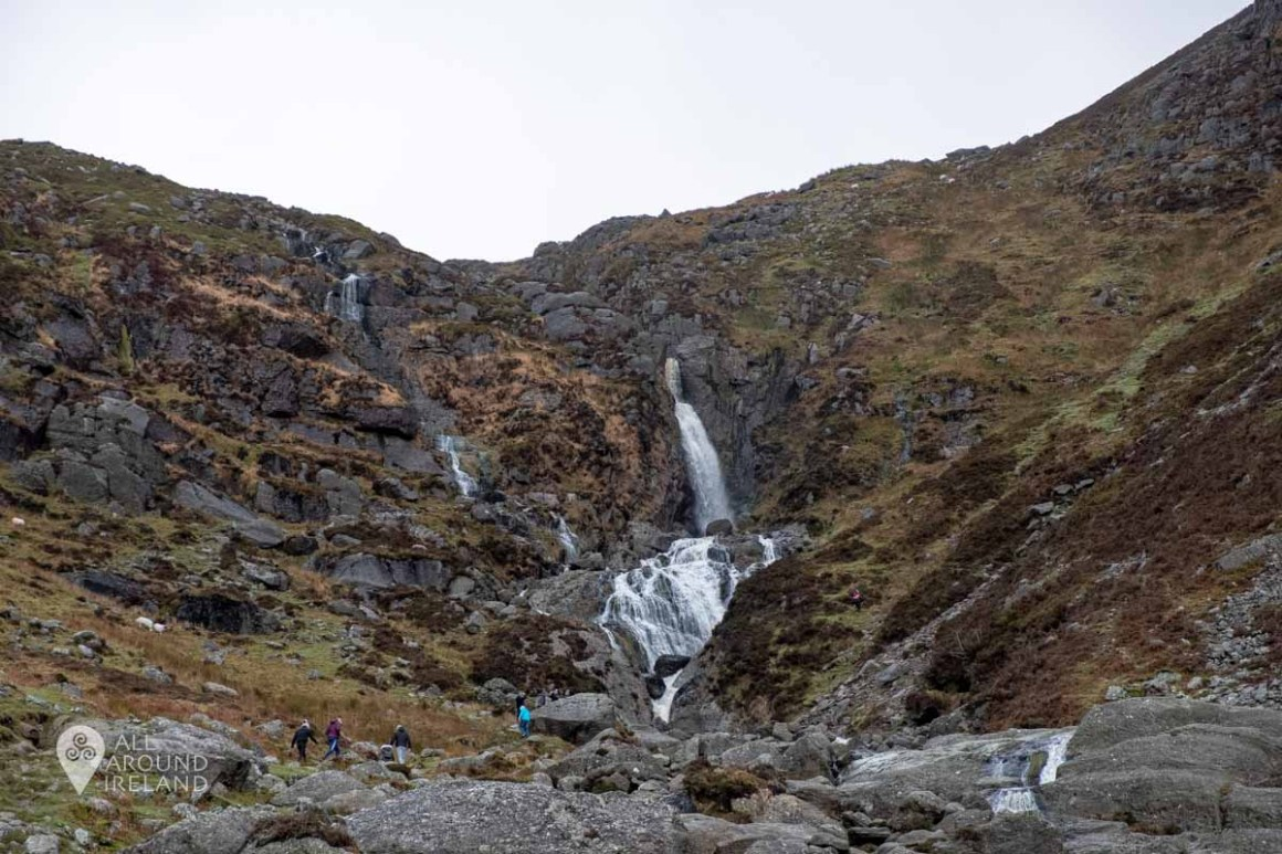 Photo from the base of Mahon Falls. You can see the flow is very light.