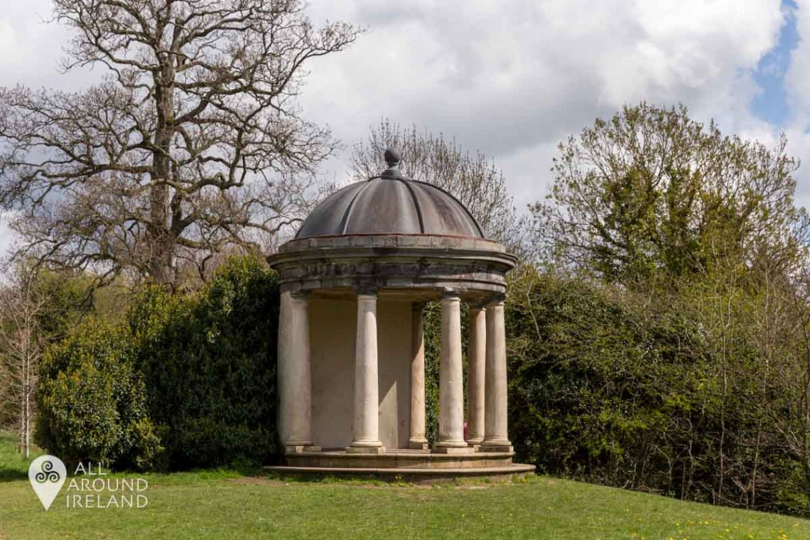 Mrs Siddons Temple in the parklands